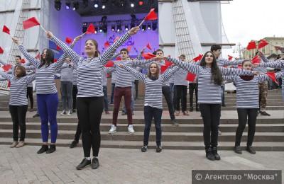 Открытие фестиваля «Рыбная неделя» на Пушкинской площади