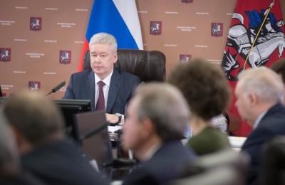 Сергей Собянин, мэр, метро, заседание, Правительство Москвы