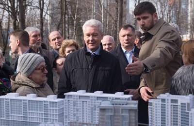 Сергей собянин, многоэтажки, расселение