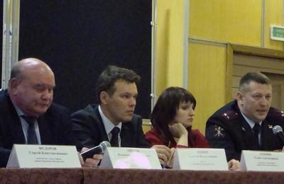 Встреча с главой управы района Чертаново Центральное