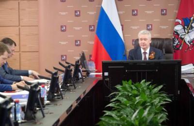 Мэр Москвы Сергей Собянин провел очередное заседание Совета по развитию общественных пространств при Правительстве Москвы