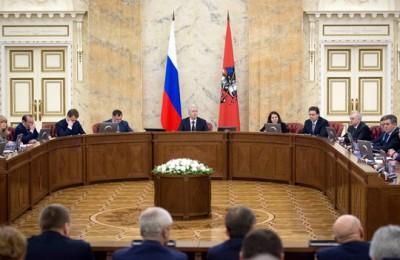 На заседании Правительства Москвы Сергей Собянин рассмотрел вопрос о ходе подготовки к празднованию 70-й годовщины Победы в Великой Отечественной войне