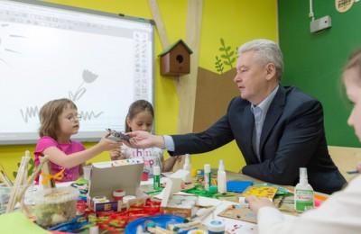 """Экошколу """"Кусково"""" посетил Мэр Москвы Сергей Собянин"""
