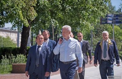 Собянин: благодаря ремонту Октябрьского тоннеля добираться до Парка Горького станет удобнее