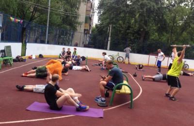 Тренировки проходят на площадке по адресу: улица Чертановская, д. 21, корпус 3