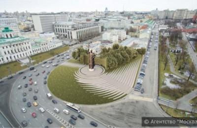 Проект благоустройства Боровицкой площади