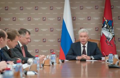 Сергей Собянин провел очередное заседание столичной ГЗК