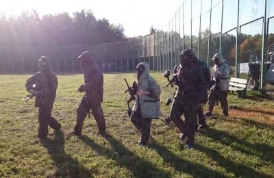 Участники прошли «курс молодого бойца»