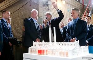 Сегодня Сергей Собянин посетил закрывшеюся ГЭС-2