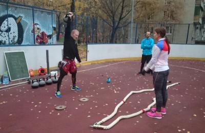 Молодежь района готовилась к соревнованиям по кроссфиту все лето