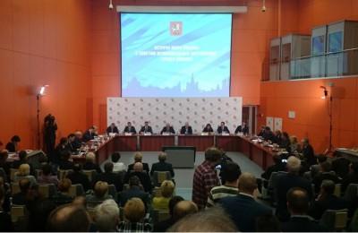 Сергей Собянин на встрече с муниципальными депутатами