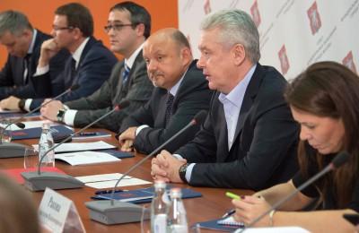 Сергей Собянин провел встречу с ОМОМ