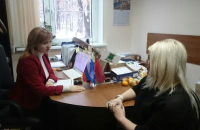 Татьяна Грудкина провела приём