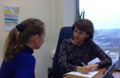 Депутат муниципального округа Чертаново Центральное Инна Фадеева провела прием жителей