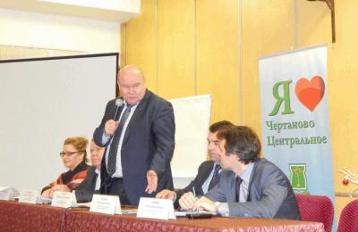 Глава управы района Владимир Михеев проведет встречу с жителями