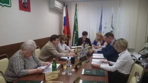 В районе Чертаново Центральное состоялось заседание Совета депутатов