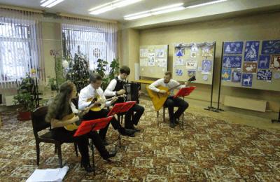 Музыкальный концерт в районе