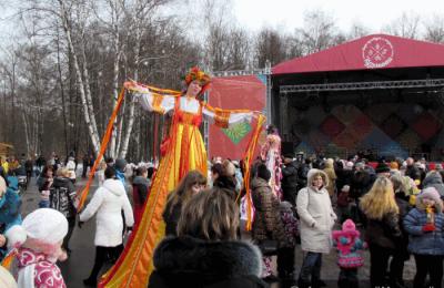 В районе Чертаново Центральное пройдет встреча Масленицы