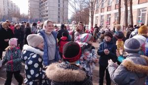 Праздник Масленицы в районе Чертаново Центральное