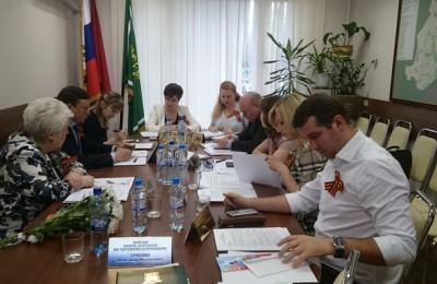 Вопрос деятельности комиссий рассмотрели на последнем заседании