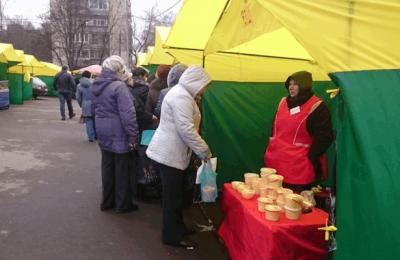 В районе Чертаново Центральное 1 апреля возобновила работу ярмарка выходного дня