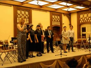 Международный музыкальный концерт прошел в парке-заповеднике