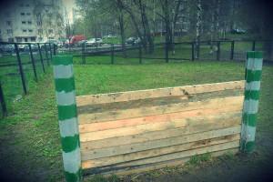 Одна из площадок для выгула собак в районе Чертаново Центральное