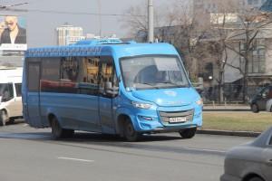 Маршрутный автобус нового образца