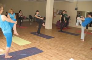 Один из мастер-классов по йоге в районе Чертаново Центральное