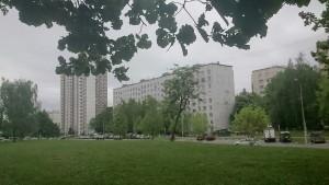 Вид на Днепропетровскую улицу в районе Чертаново Центральное