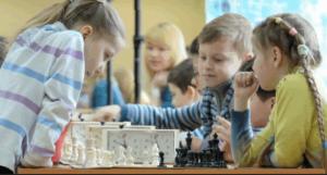 Ребята из Шахматного клуба «Чертаново»