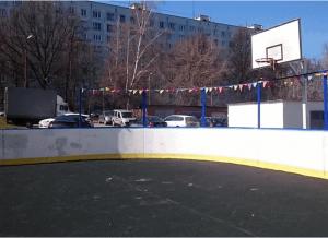 Спортплощадка в районе Чертаново Центральное