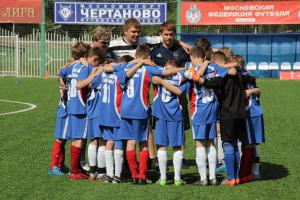 """Юные футболисты клуба """"Чертаново"""""""