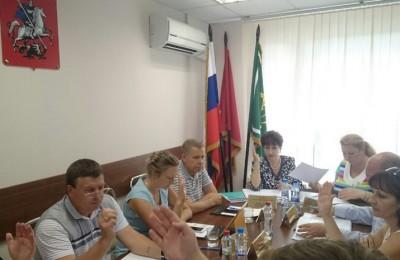 Депутаты единогласно согласовали будущие работы по благоустройству