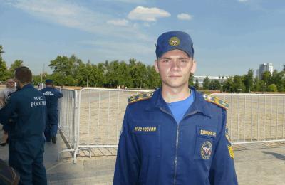 Выпускник 57 пожарно-спасательного колледжа имени Максимчука