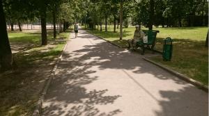 На свежем воздухе в районе Чертаново Центральное