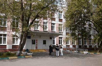 Школа №858 в районе Чертаново Центральное