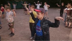 На детском мероприятии в районе Чертаново Центральное