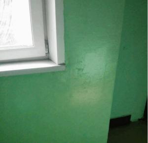 На 7-м этаже подъезда в доме 19, корпус 2 на Кировоградской улице после ремонта