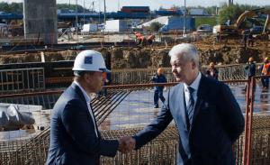 Трасса Солнцево-Бутово-Видное станет полноценным дублером МКАД, заявил мэр Москвы Сергей Собянин