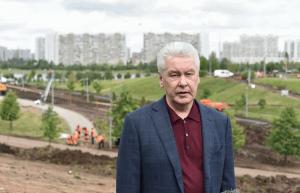 Благоустройство Братеевского каскадного парка заняло менее 2-х месяцев, заявил мэр Москвы Сергей Собянин