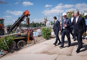 Сергей Собянин рассказал о строительстве парка «Зарядье» в Москве