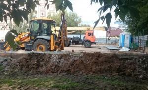 Ход строительных работ