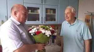 Поздравления ветерана Феликса Григорьевича Афанасьева