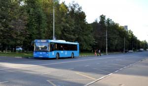 Автобус на улице Домодедовская