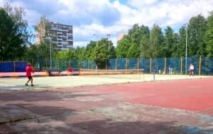 Спортивный корт в парке