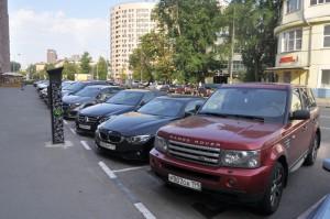 Парковка в ЮАО