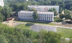Благоустройство гимназии №1582
