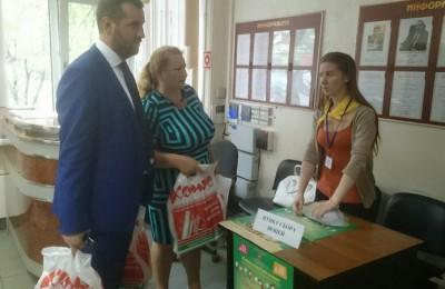 Сергей Полозов и Анна Гурова присоединились к акции