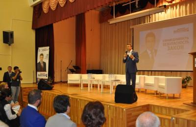 Анатолий Выборный на встрече с избирателями